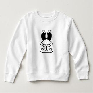 Sweatshirt visage de lapin