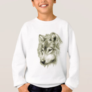 Sweatshirt Visage de loup