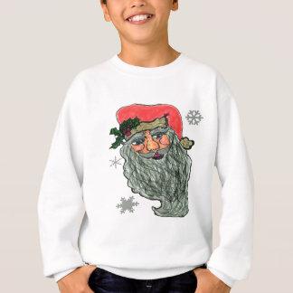 Sweatshirt Visage gai de Santa