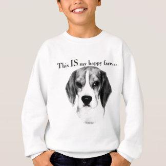 Sweatshirt Visage heureux de beagle