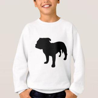 Sweatshirt Vitesse de bull-terrier du Staffordshire