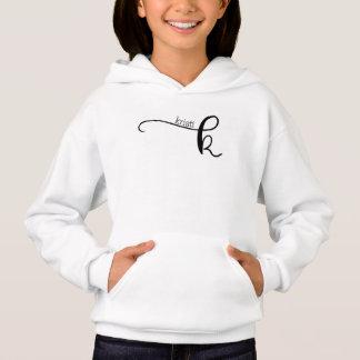 Sweatshirt vivant de soleil de la vie avec le nom