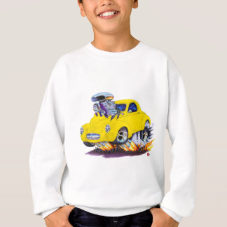 Sweatshirt Voiture 1941 jaune de Willys