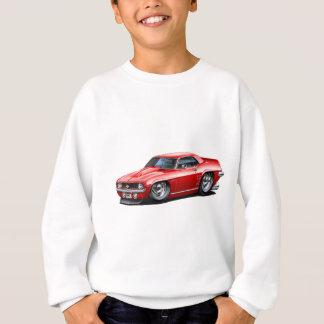 Sweatshirt Voiture 1969 de rouge de Camaro solides solubles