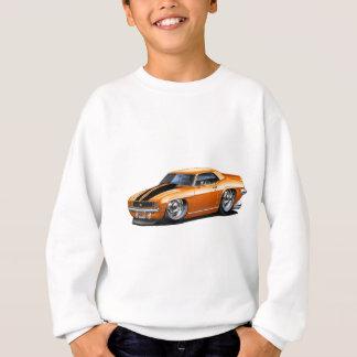 Sweatshirt Voiture 1969 Orange-Noire de Camaro