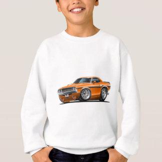 Sweatshirt Voiture 1970-72 d'orange de challengeur