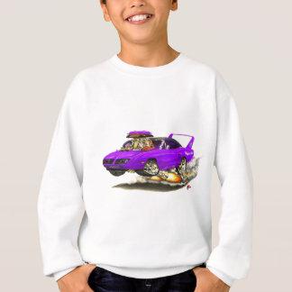 Sweatshirt Voiture 1970 de pourpre de Superbird
