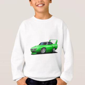 Sweatshirt Voiture 1970 verte de Plymouth Superbird