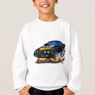 Sweatshirt Voiture 1979-81 noire du transport AM