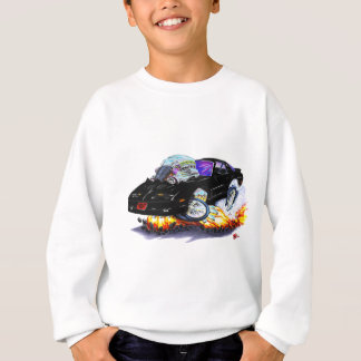 Sweatshirt Voiture 1982-92 noire du transport AM
