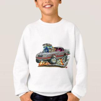 Sweatshirt Voiture 1983-88 de gris de Monte Carlo