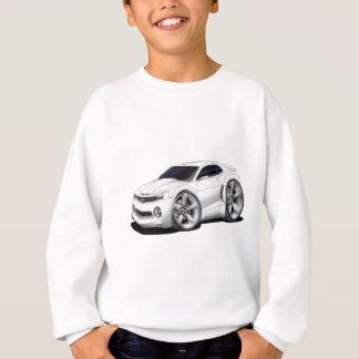 Sweatshirt Voiture 2010-11 de blanc de Camaro