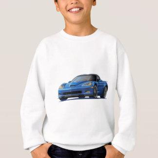 Sweatshirt Voiture de bleu de Corvette ZR1