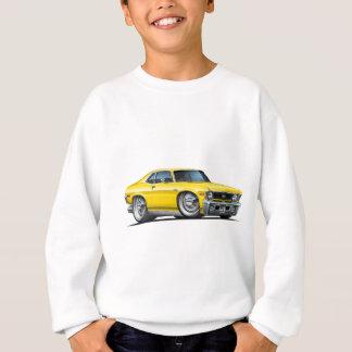 Sweatshirt Voiture de jaune de nova de Chevy