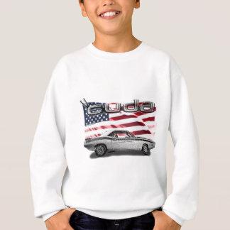 Sweatshirt Voiture de muscle de Cuda