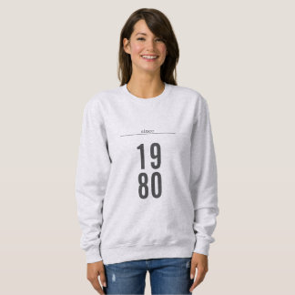 Sweatshirt Votre chemise d'année