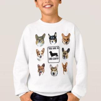 Sweatshirt Vous êtes dans le pays de corgi