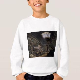 Sweatshirt Vue imaginaire du grand Galerie dans le Louvre