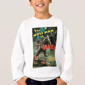 Sweatshirt WOLFMAN CONTRE DRACULA par Philip J. Riley