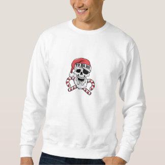 Sweatshirt Yo ho ho - pirate père Noël - le père noël drôle