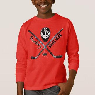 Sweatshirts faits sur commande d'hockey de la