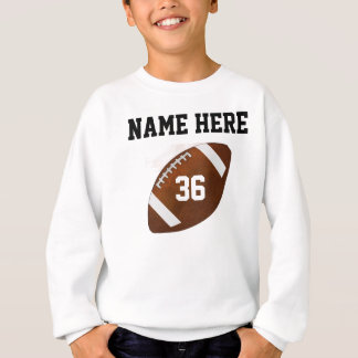 Sweatshirts personnalisés du football ou tout
