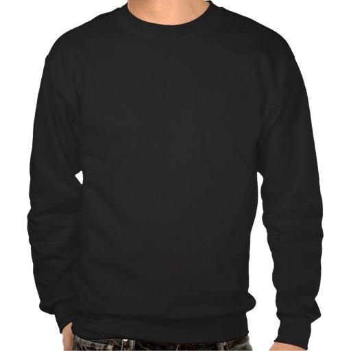 Sweatshirts unisexes de chat noir de chemise de