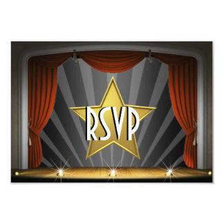 Sweet sixteen de star de cinéma carton d'invitation 8,89 cm x 12,70 cm