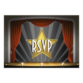 Sweet sixteen de star de cinéma invitations