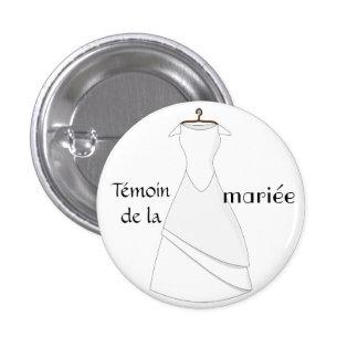 Badges pour la future mariée