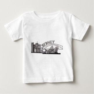 Sydney dans les embrouillements t-shirt pour bébé