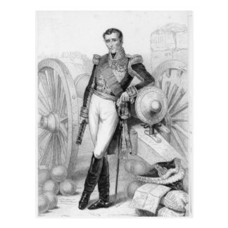 Sylvain Charles Valee, compte et maréchal Carte Postale