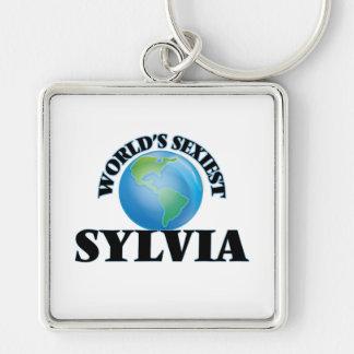Sylvia la plus sexy du monde porte-clé
