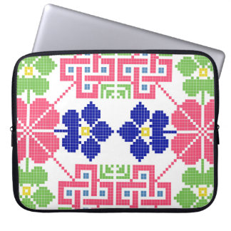 sym ethnique traditionnel de motif de motif de protection pour ordinateur portable