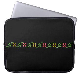 sym ethnique traditionnel de motif de motif de trousses pour ordinateur portable