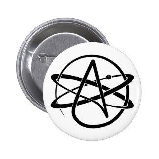 Symbole athée pin's