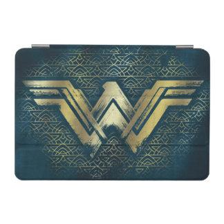 Symbole balayé d'or de femme de merveille protection iPad mini