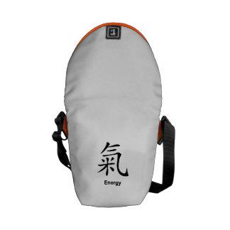 """Symbole chinois de sac messenger à """"énergie"""" besaces"""