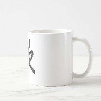 Symbole chinois pour la joie (balayée) mug