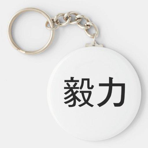 symbole chinois pour la pers v rance porte clefs zazzle. Black Bedroom Furniture Sets. Home Design Ideas
