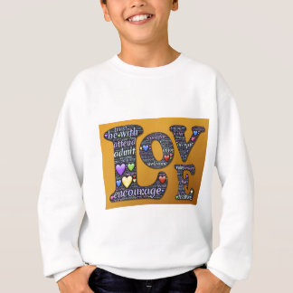 symbole d'amour sweatshirt