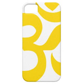 Symbole d'Aum (or jaune en couleurs) Coques iPhone 5 Case-Mate