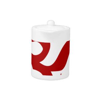 Symbole d'Aum (rouge foncé, minimal)