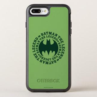 Symbole | de Batman le logo de légende Coque OtterBox Symmetry iPhone 8 Plus/7 Plus