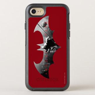 Symbole de batte de ville d'Arkham Coque OtterBox Symmetry iPhone 8/7