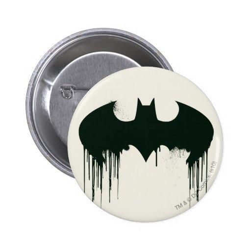 Symbole de batte - logo Spraypaint de Batman Pin's
