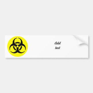 Symbole de BioHazard Autocollant Pour Voiture