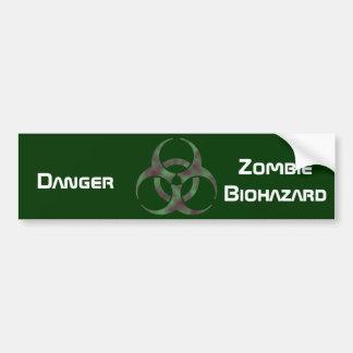 Symbole de Biohazard de zombi Autocollant De Voiture
