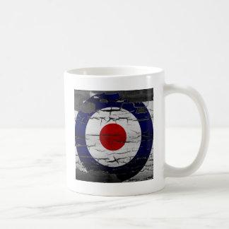 Symbole de cible de mod de détresse mug