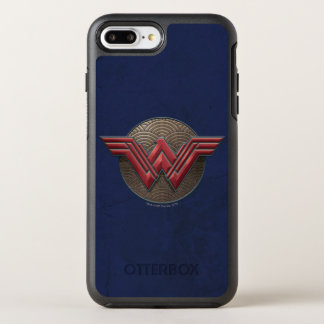 Symbole de femme de merveille au-dessus des coque otterbox symmetry pour iPhone 7 plus